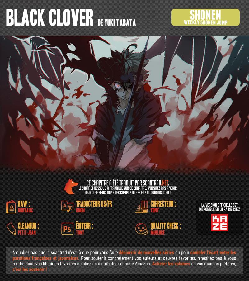 Lecture en ligne Black Clover 255 page 2