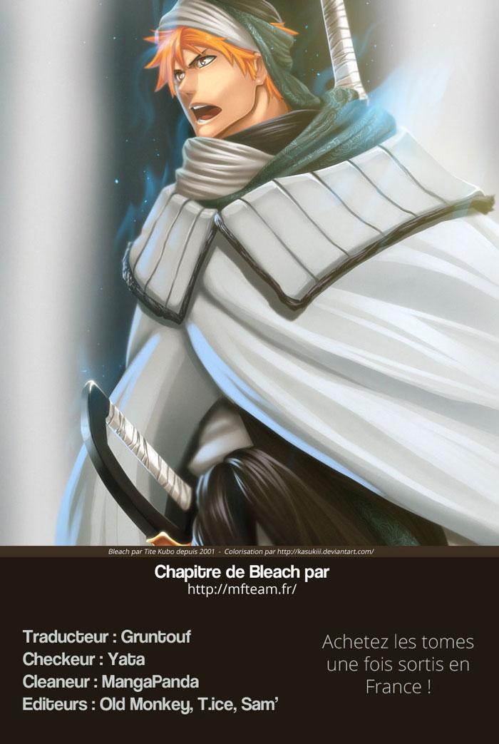 Lecture en ligne Bleach 610 page 1