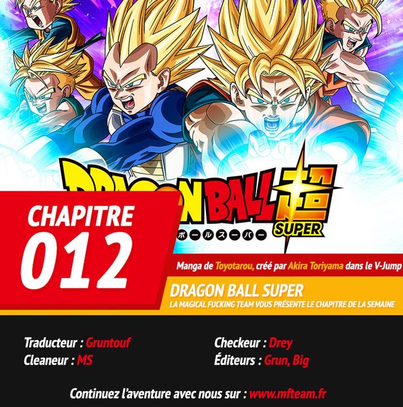 Lecture en ligne Dragon Ball Super 12 page 1