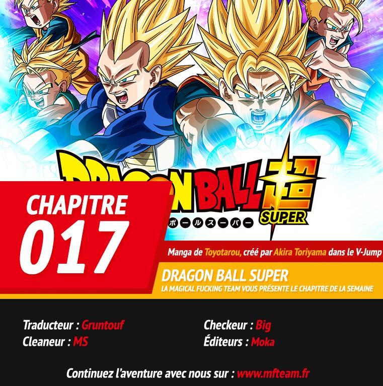 Lecture en ligne Dragon Ball Super 17 page 1