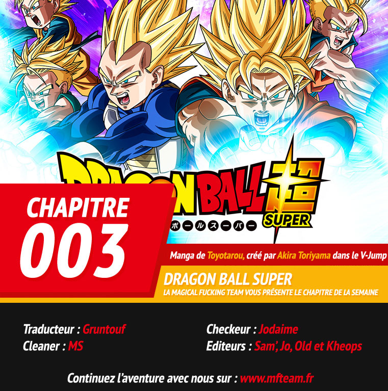 Lecture en ligne Dragon Ball Super 3 page 1