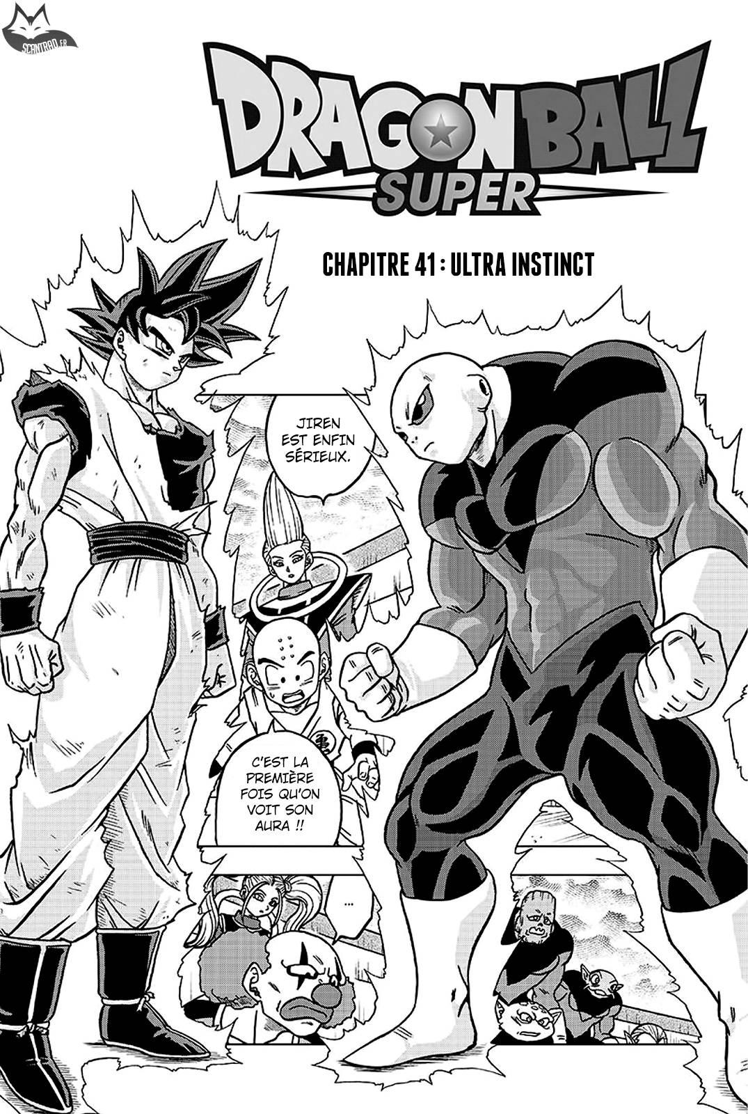 Lecture en ligne Dragon Ball Super 41 page 1