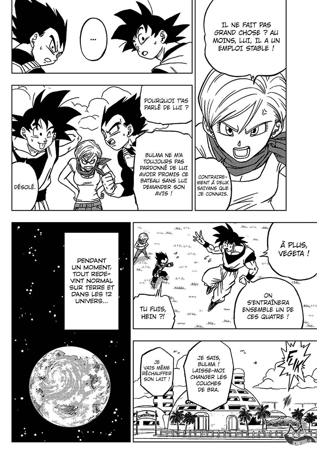 Lecture en ligne Dragon Ball Super 42 page 32