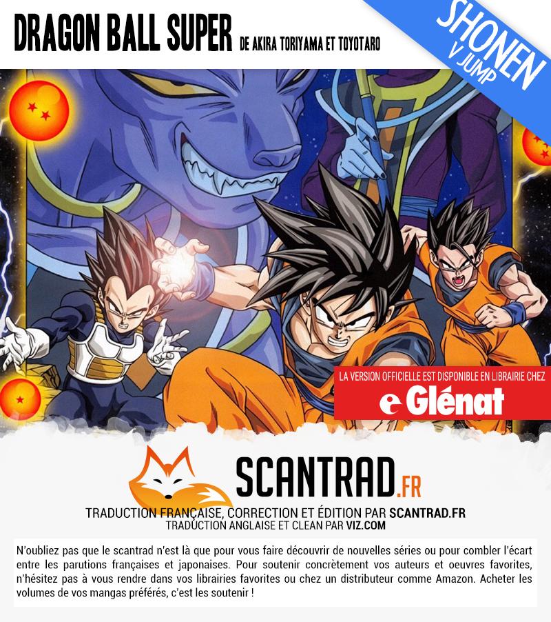 Lecture en ligne Dragon Ball Super 47 page 2