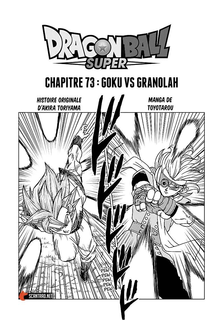 Lecture en ligne Dragon Ball Super 37 page 1