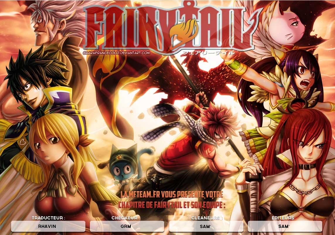 Lecture en ligne Fairy Tail 345 page 1