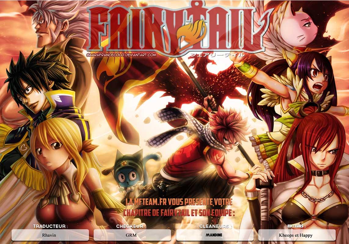 Lecture en ligne Fairy Tail 348 page 1