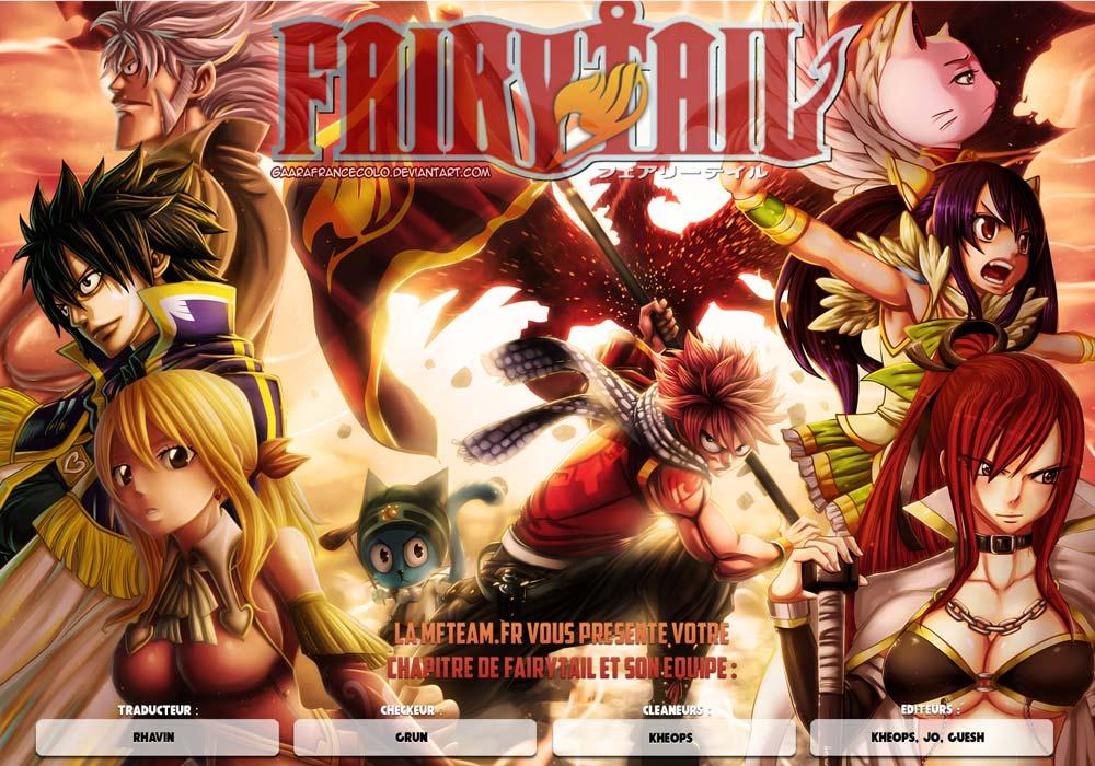 Lecture en ligne Fairy Tail 367 page 1