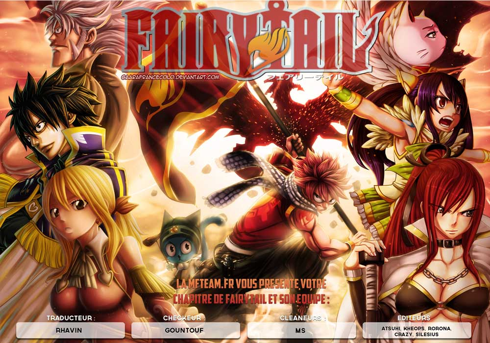 Lecture en ligne Fairy Tail 373 page 1