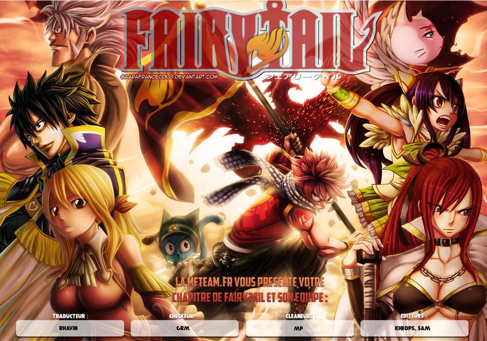 Lecture en ligne Fairy Tail 389 page 1