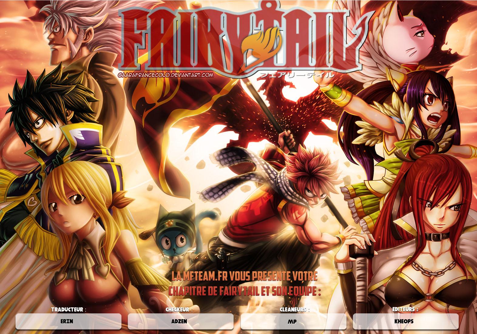 Lecture en ligne Fairy Tail 393 page 1