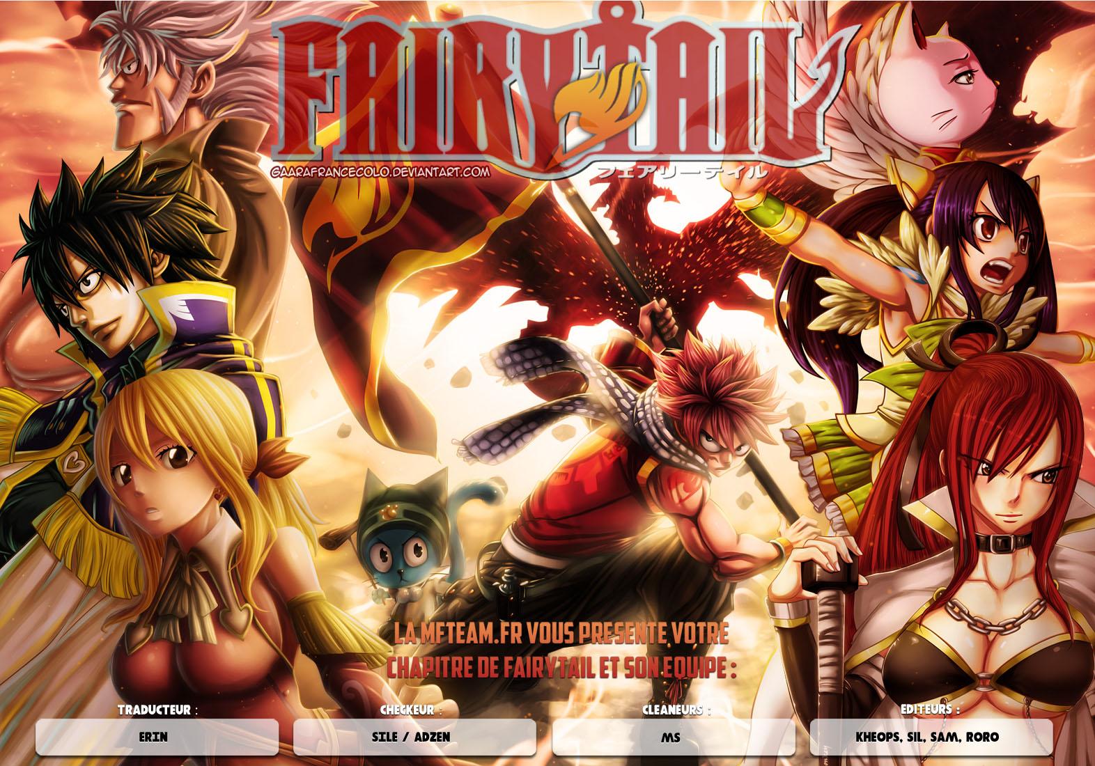 Lecture en ligne Fairy Tail 396 page 1