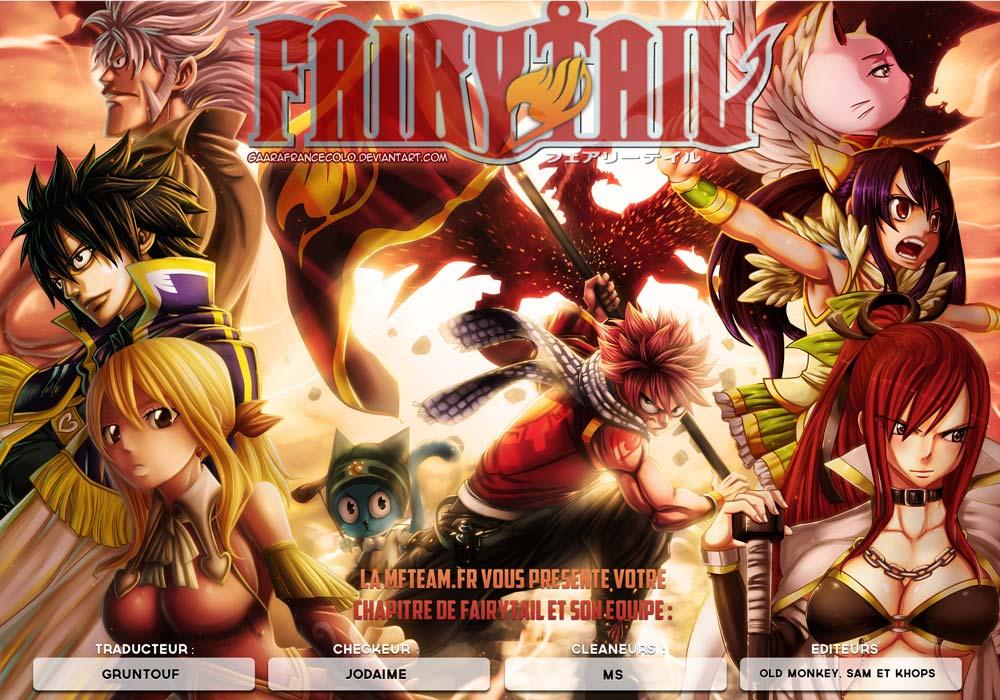 Lecture en ligne Fairy Tail 406 page 1