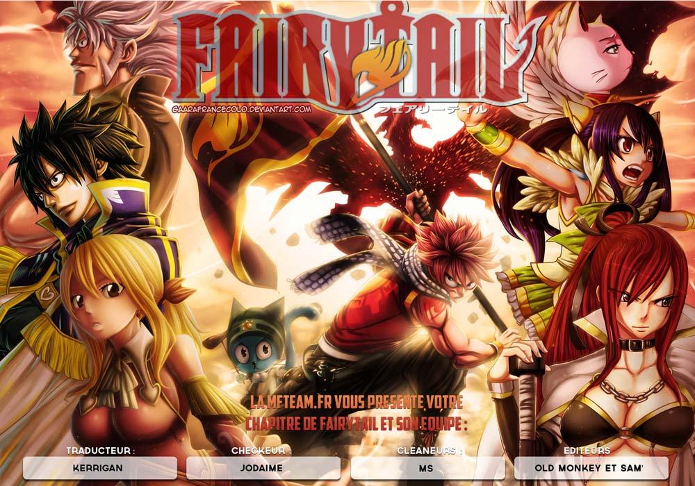Lecture en ligne Fairy Tail 408 page 1