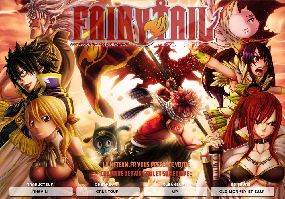Lecture en ligne Fairy Tail 421 page 1