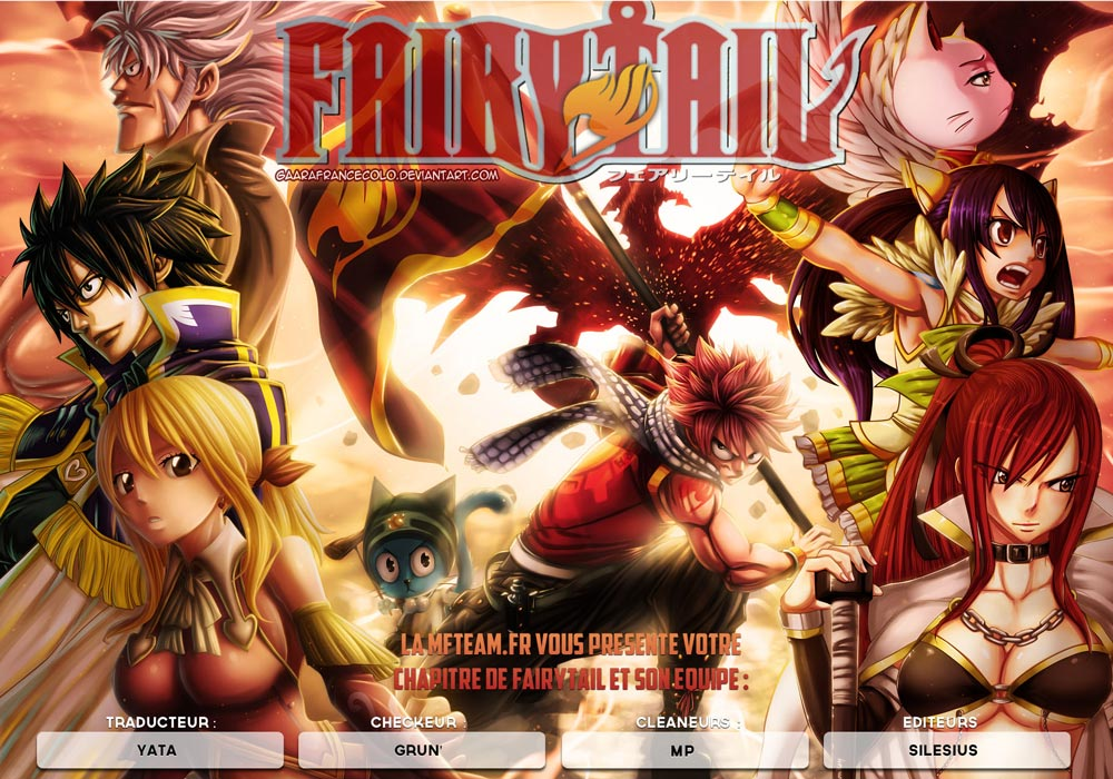 Lecture en ligne Fairy Tail 427 page 1