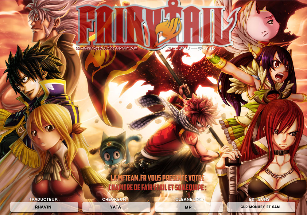Lecture en ligne Fairy Tail 429 page 1