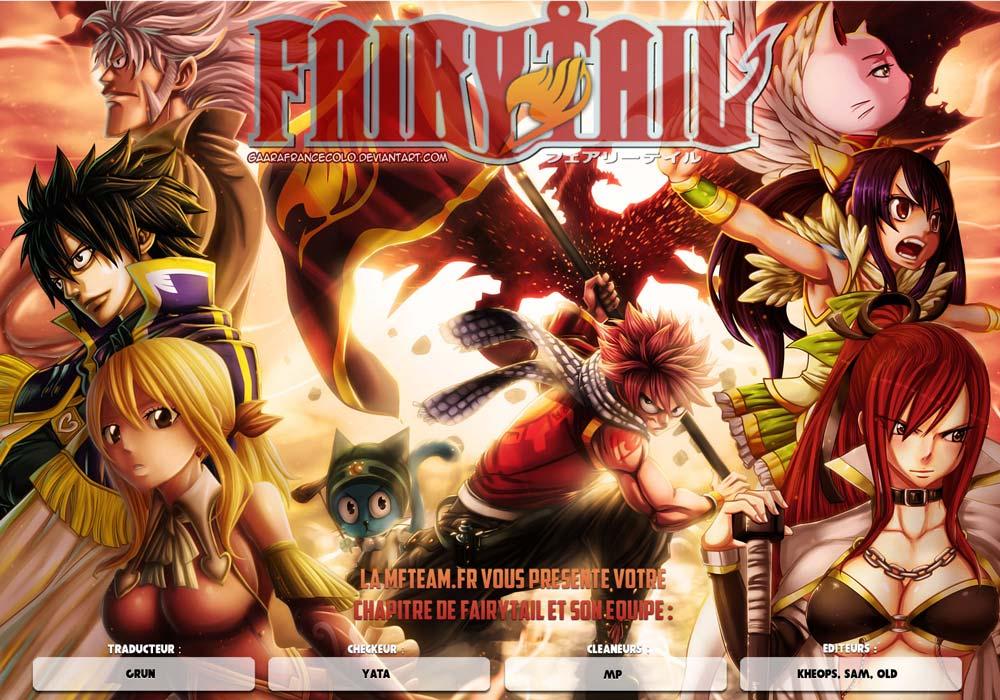 Lecture en ligne Fairy Tail 432 page 1