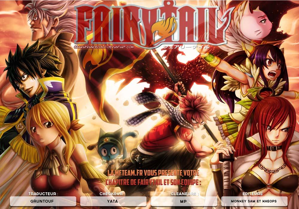 Lecture en ligne Fairy Tail 436 page 1