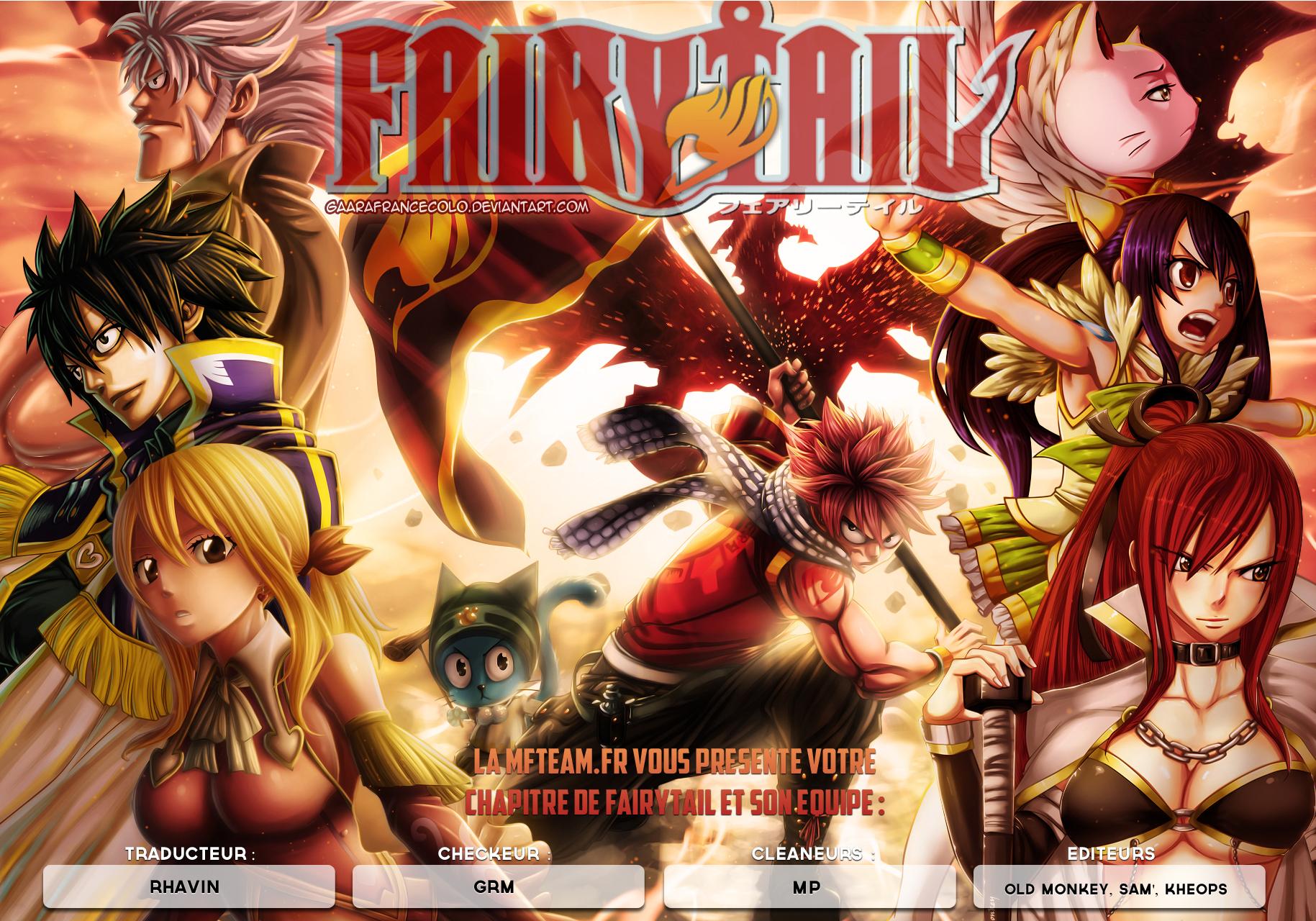 Lecture en ligne Fairy Tail 446 page 1