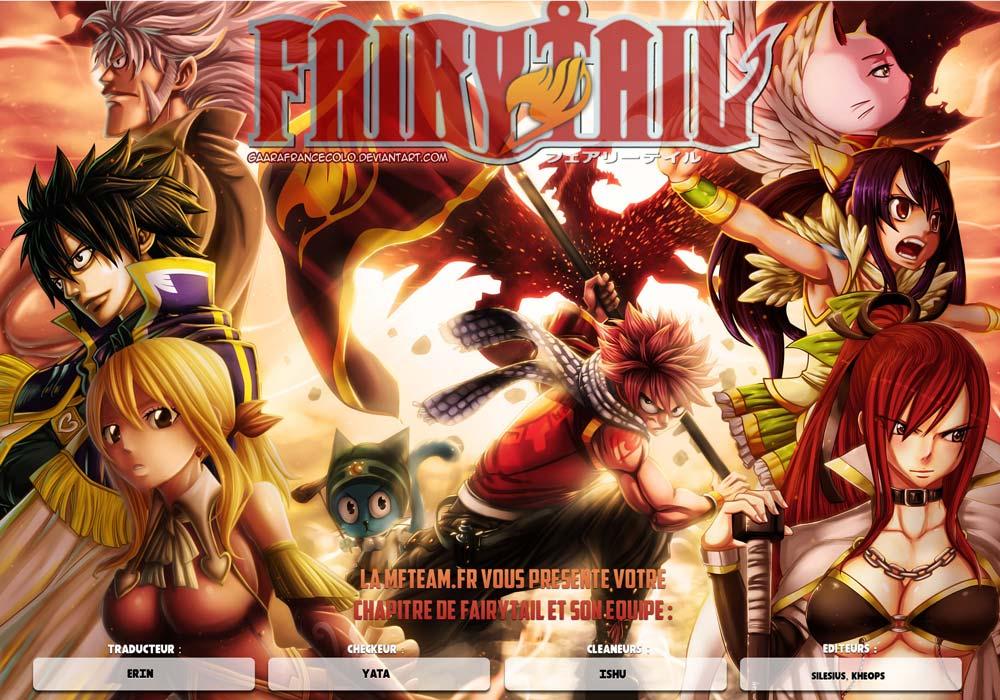 Lecture en ligne Fairy Tail 447 page 1