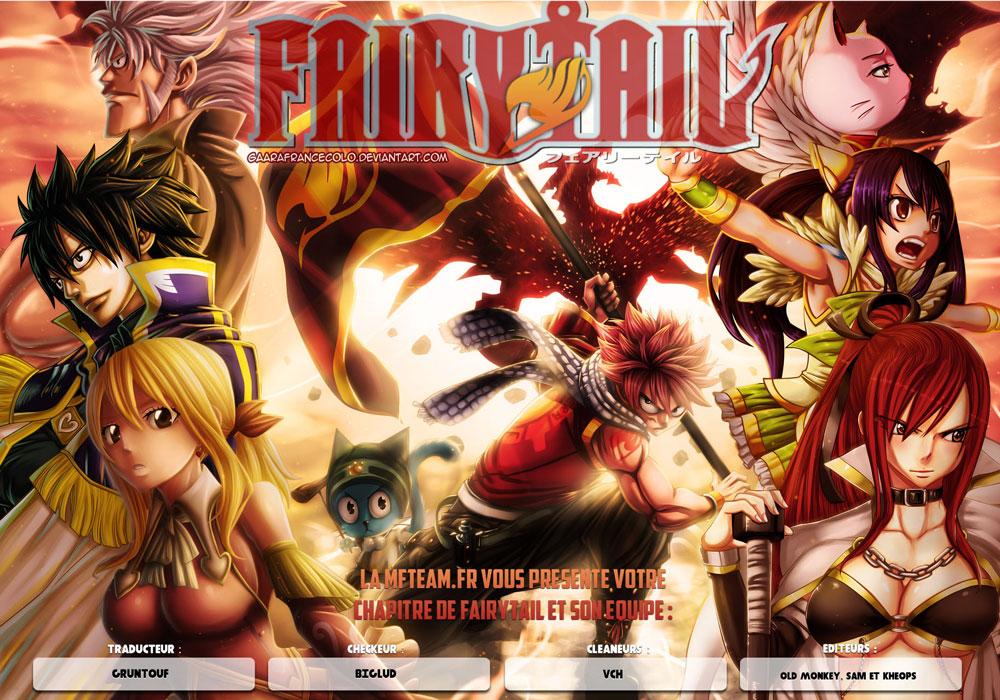 Lecture en ligne Fairy Tail 459 page 1
