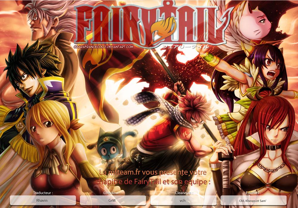 Lecture en ligne Fairy Tail 477 page 1