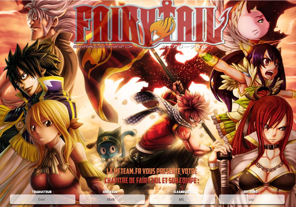 Lecture en ligne Fairy Tail 495 page 1