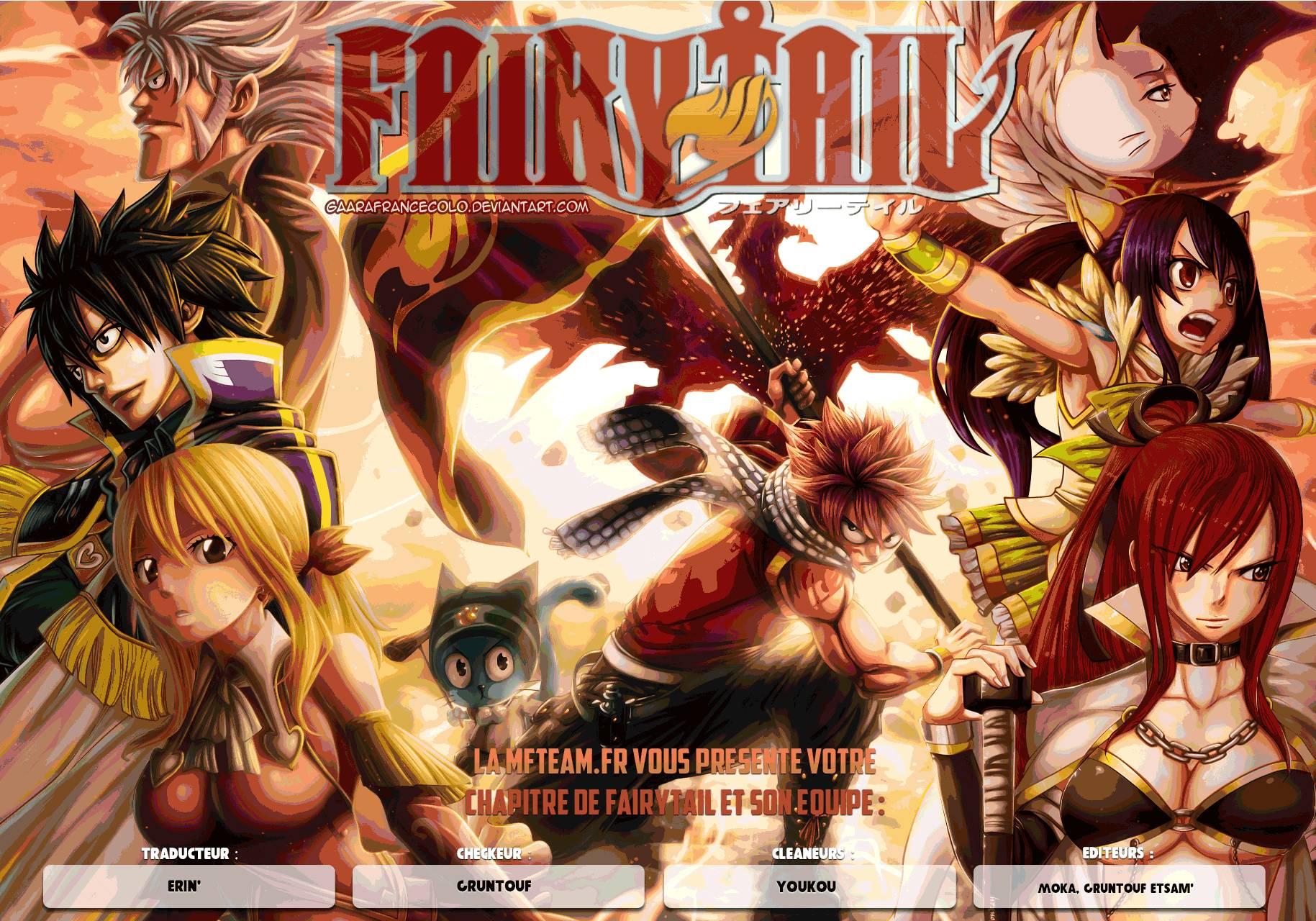 Lecture en ligne Fairy Tail 504 page 1