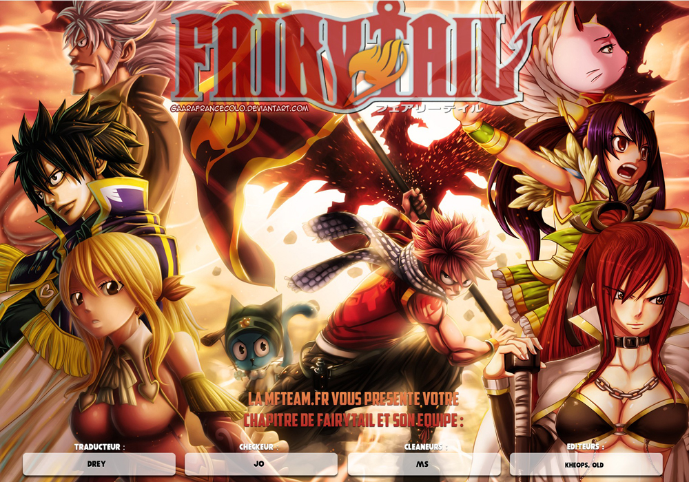 Lecture en ligne Fairy Tail 505 page 1