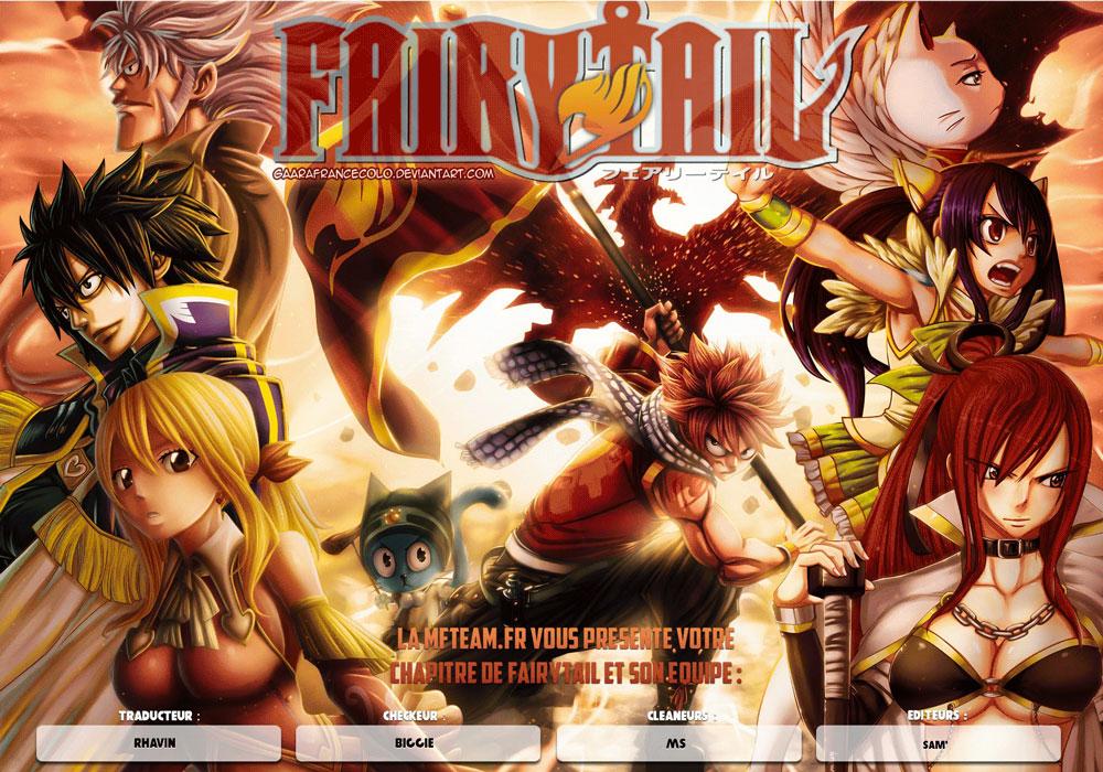 Lecture en ligne Fairy Tail 507 page 1