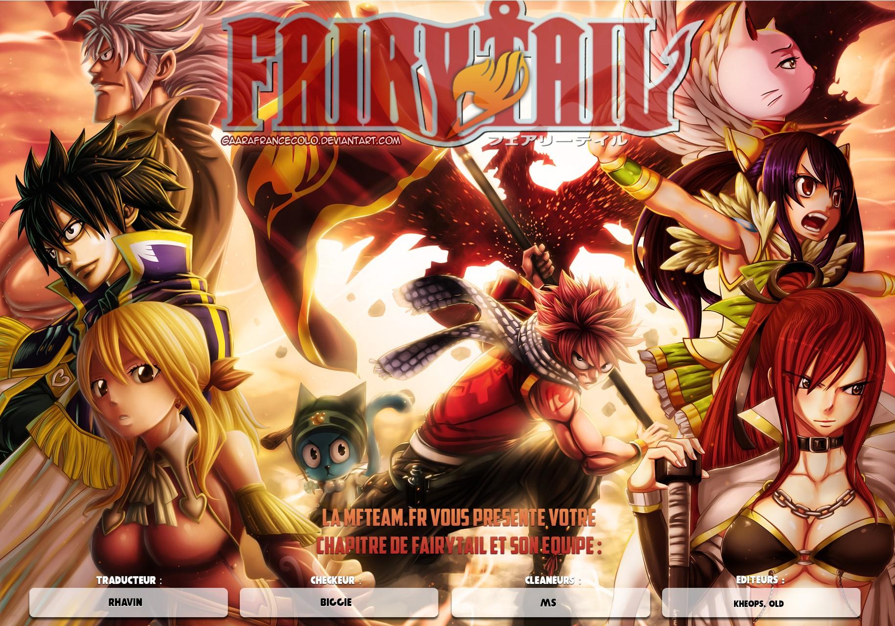 Lecture en ligne Fairy Tail 510 page 1