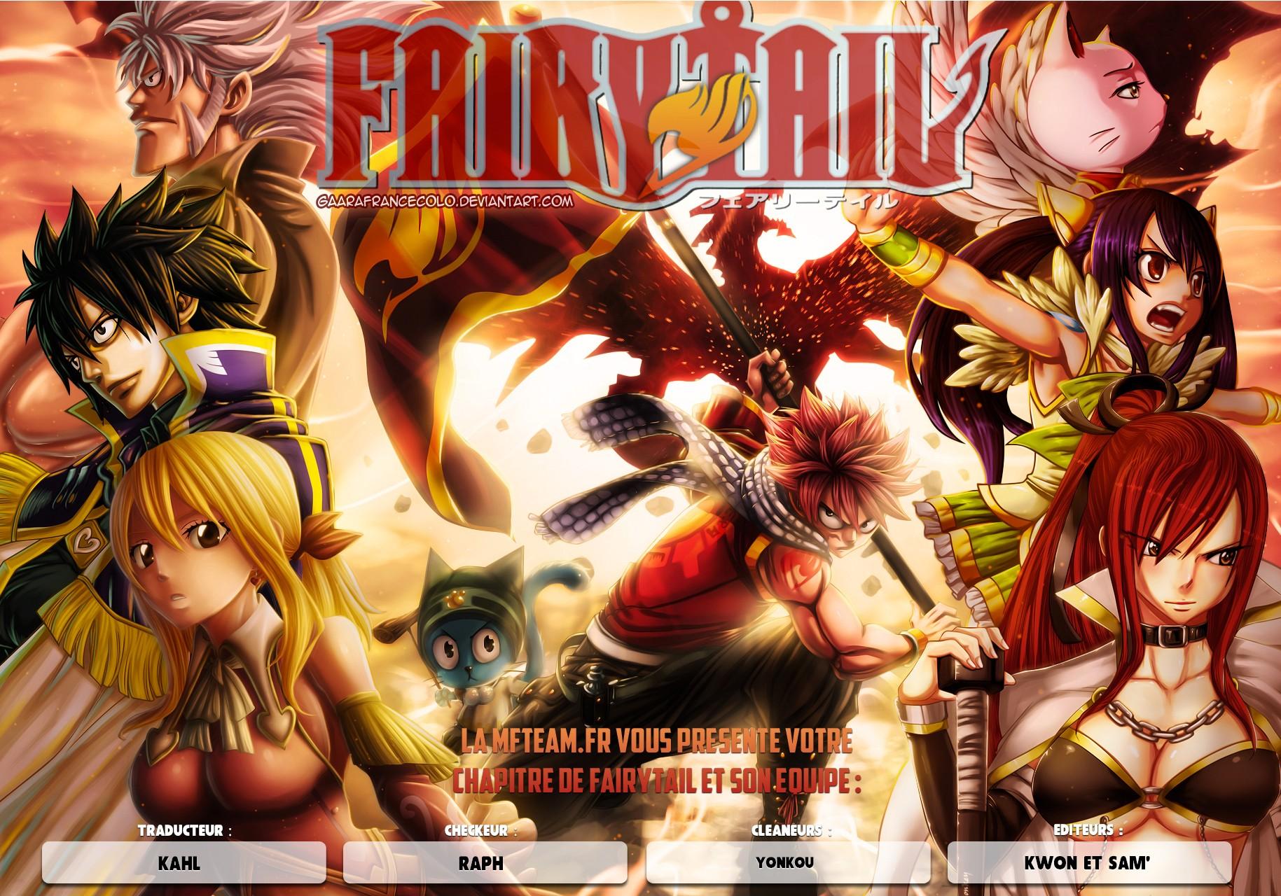 Lecture en ligne Fairy Tail 527 page 1