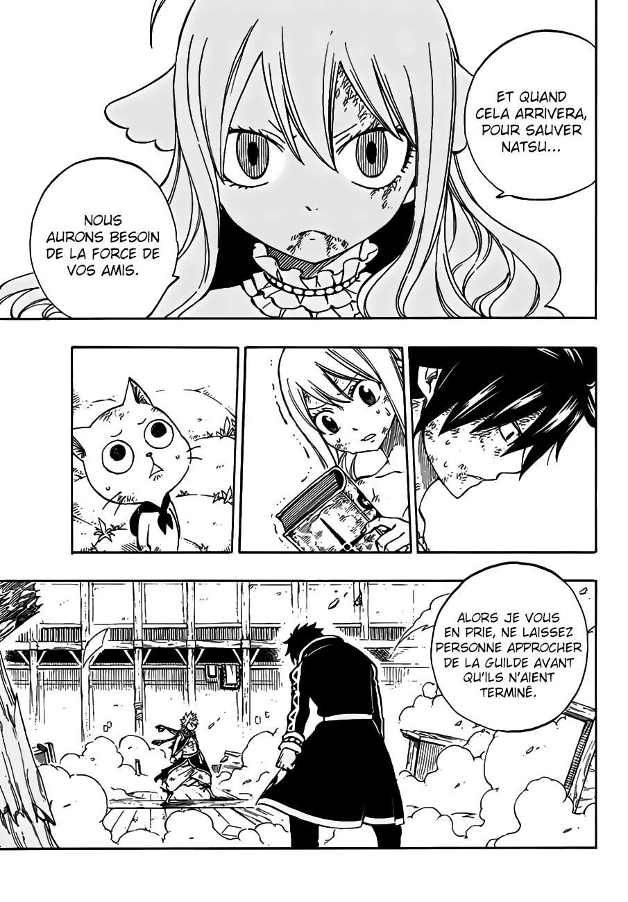 Lecture en ligne Fairy Tail 527 page 20