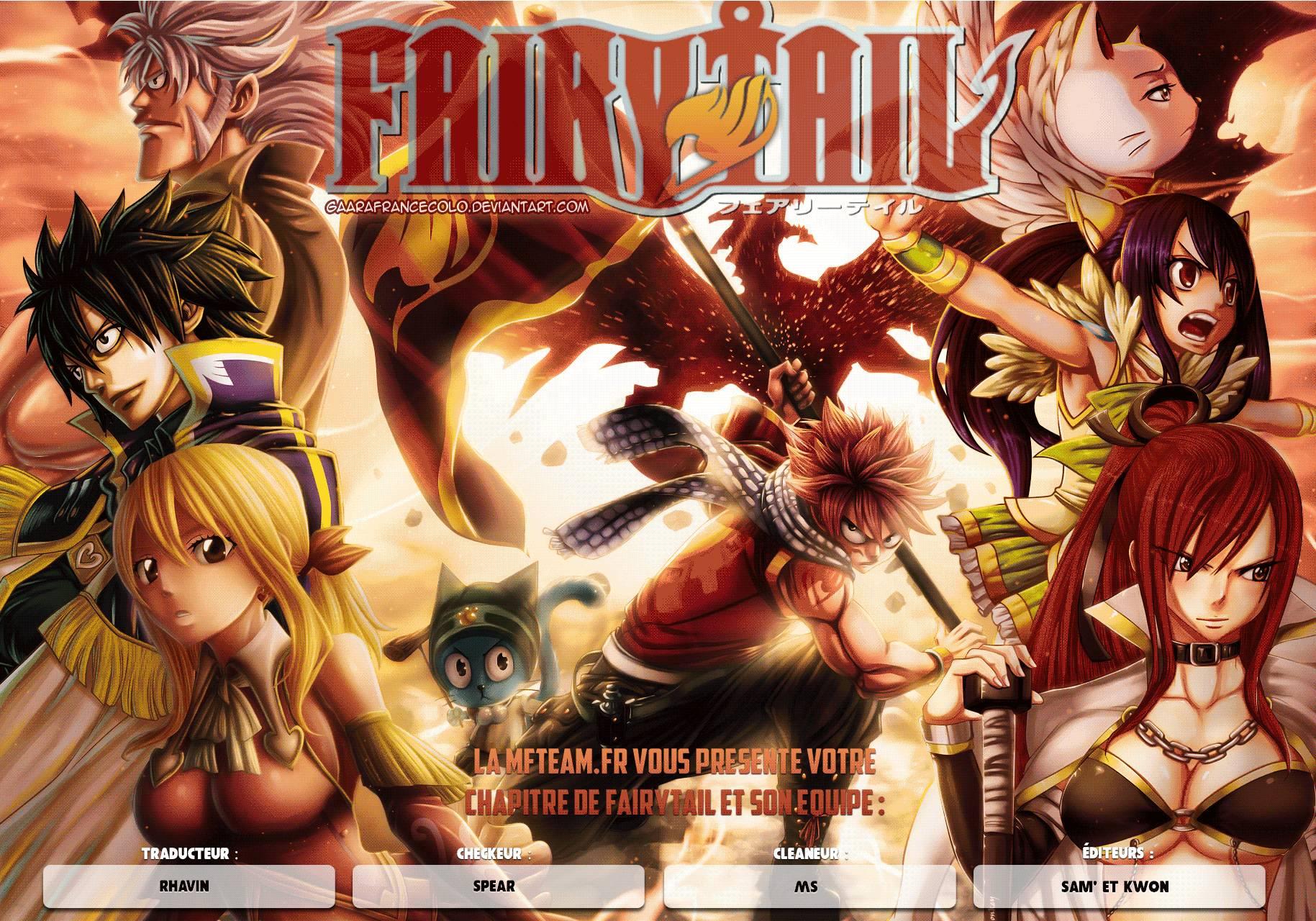 Lecture en ligne Fairy Tail 532 page 1