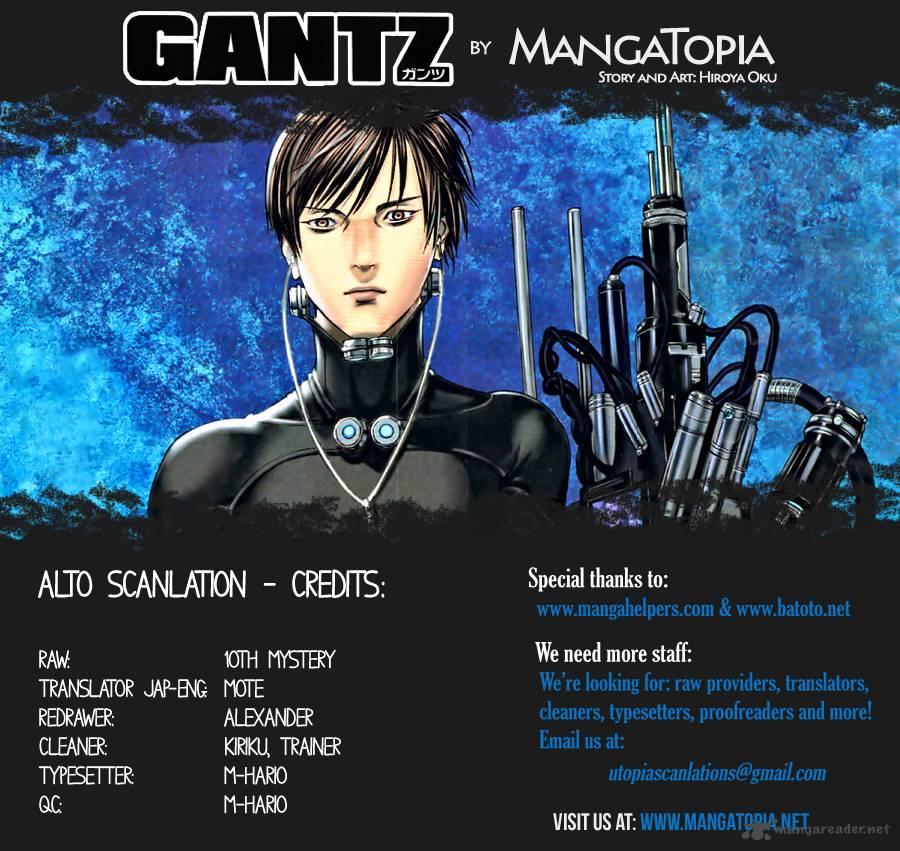 Lecture en ligne Gantz 382 page 1