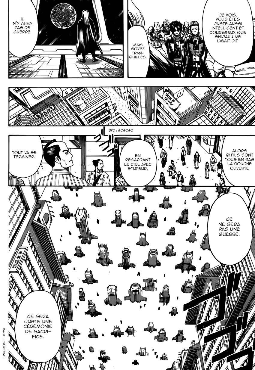 Lecture en ligne Gintama 603 page 15