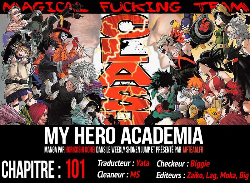 Lecture en ligne My Hero Academia 100 page 1