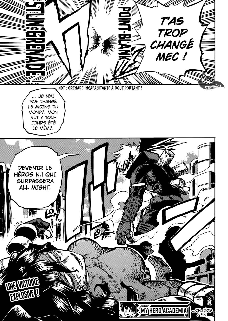 lecture en ligne My Hero Academia 208 page 14