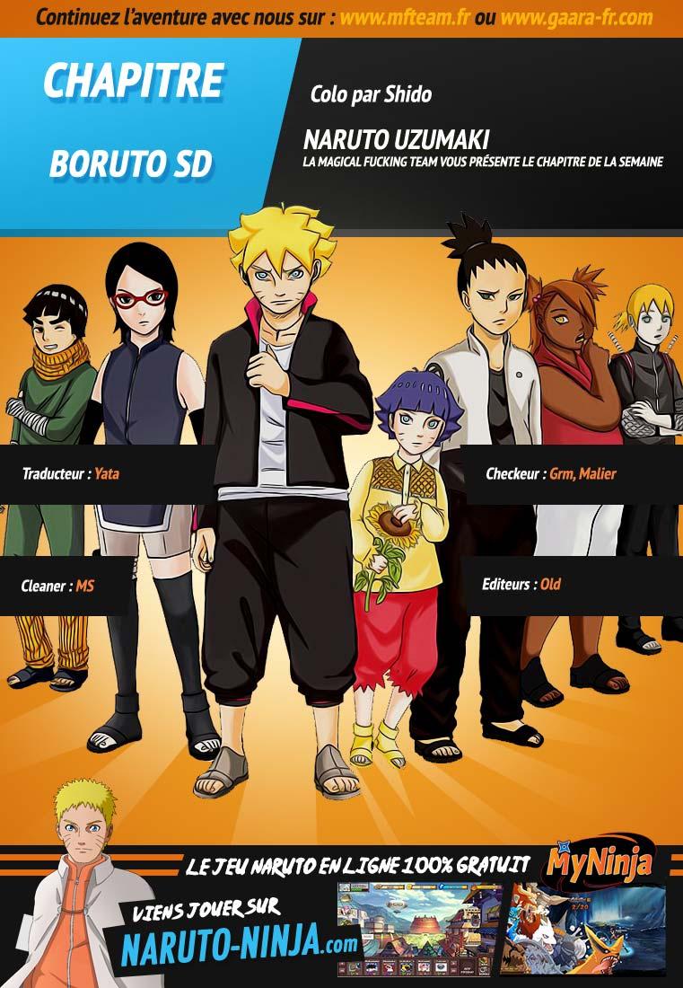 Lecture en ligne Naruto Gaiden 11 page 1