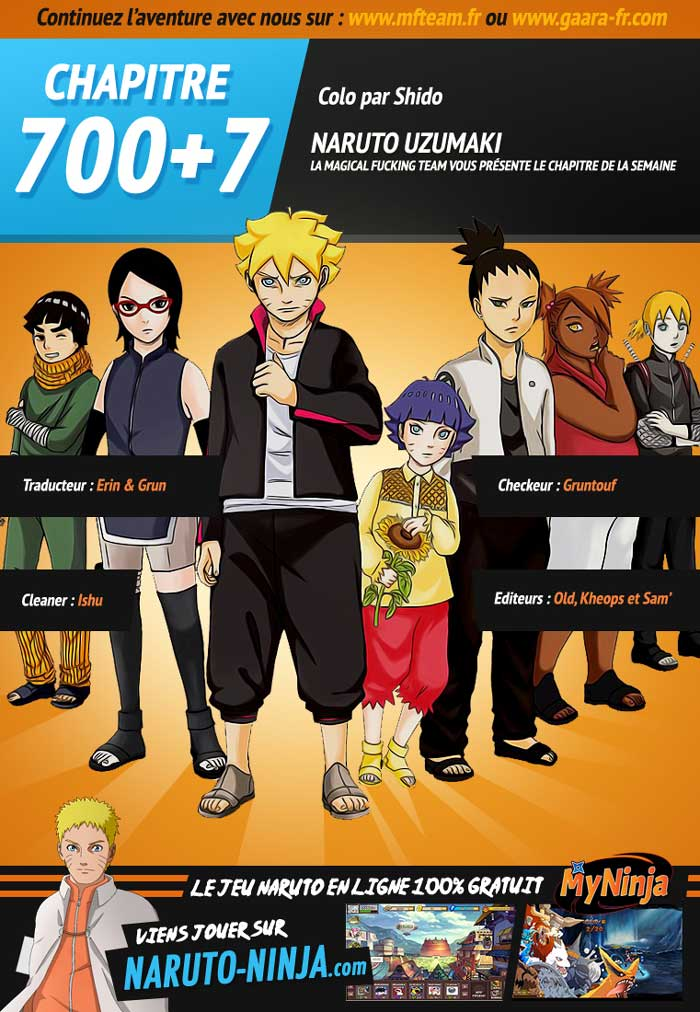 Lecture en ligne Naruto Gaiden 7 page 1