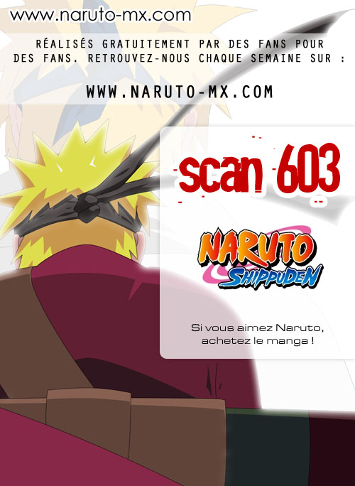 Lecture en ligne Naruto 603 page 1