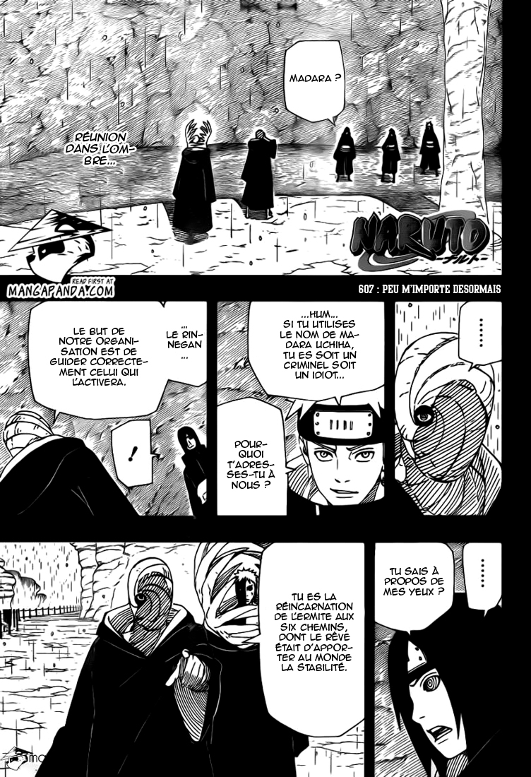 Scan Naruto Shippuden 607 VF
