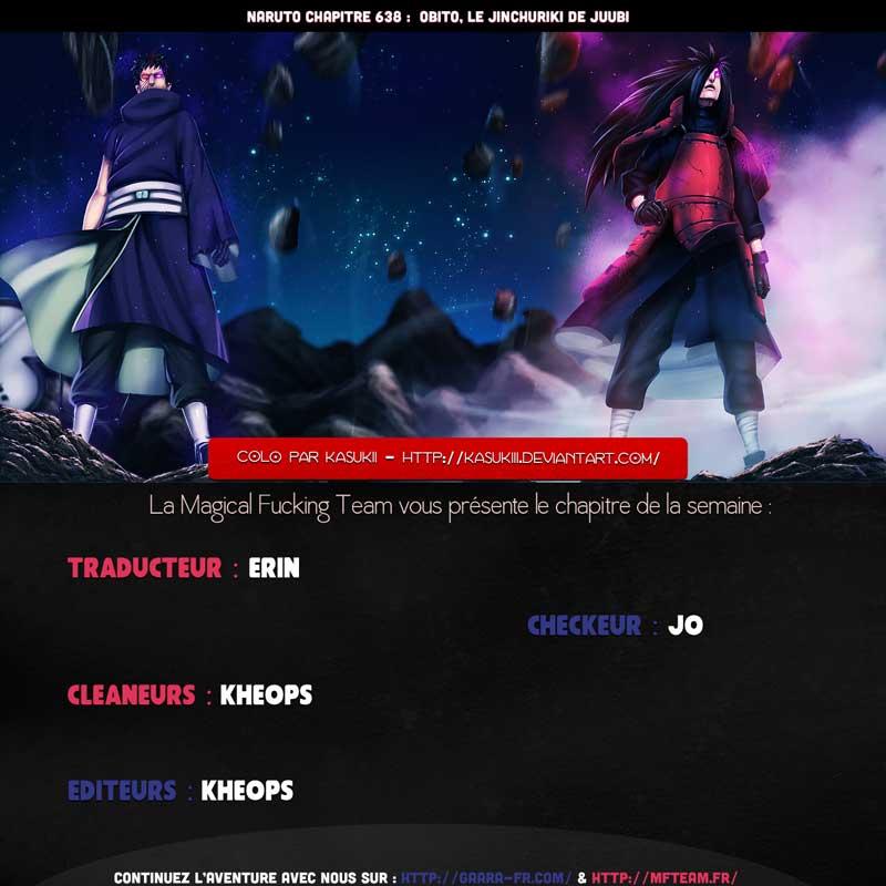 Lecture en ligne Naruto 638 page 1