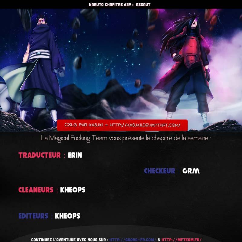 Lecture en ligne Naruto 639 page 1