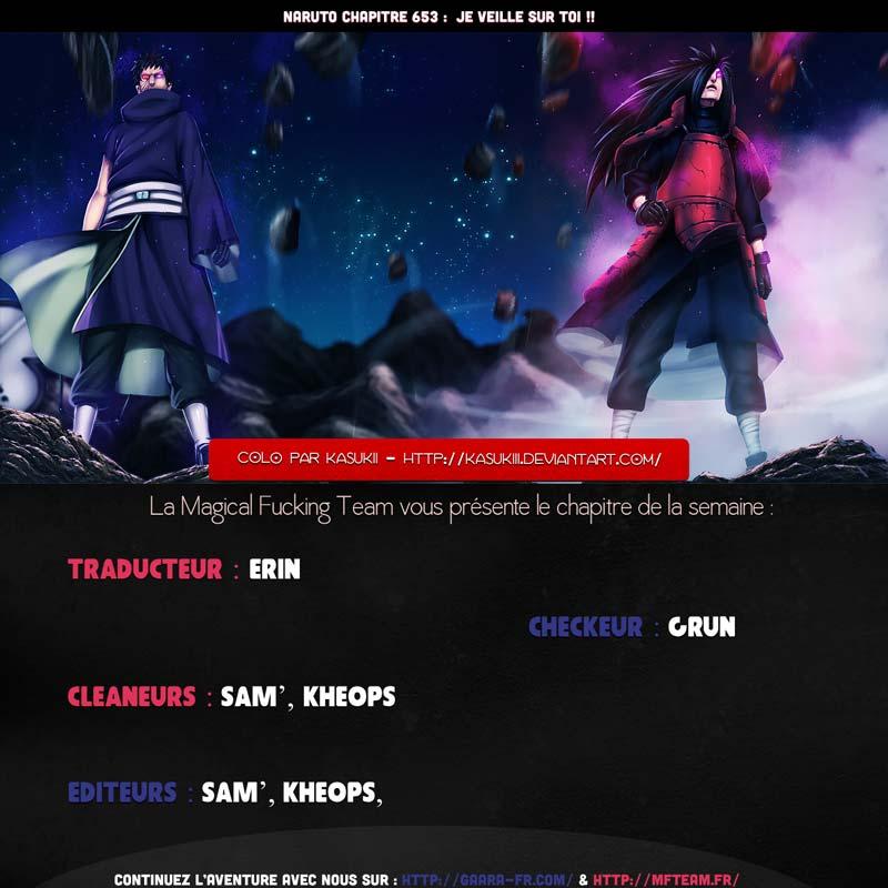 Lecture en ligne Naruto 653 page 1