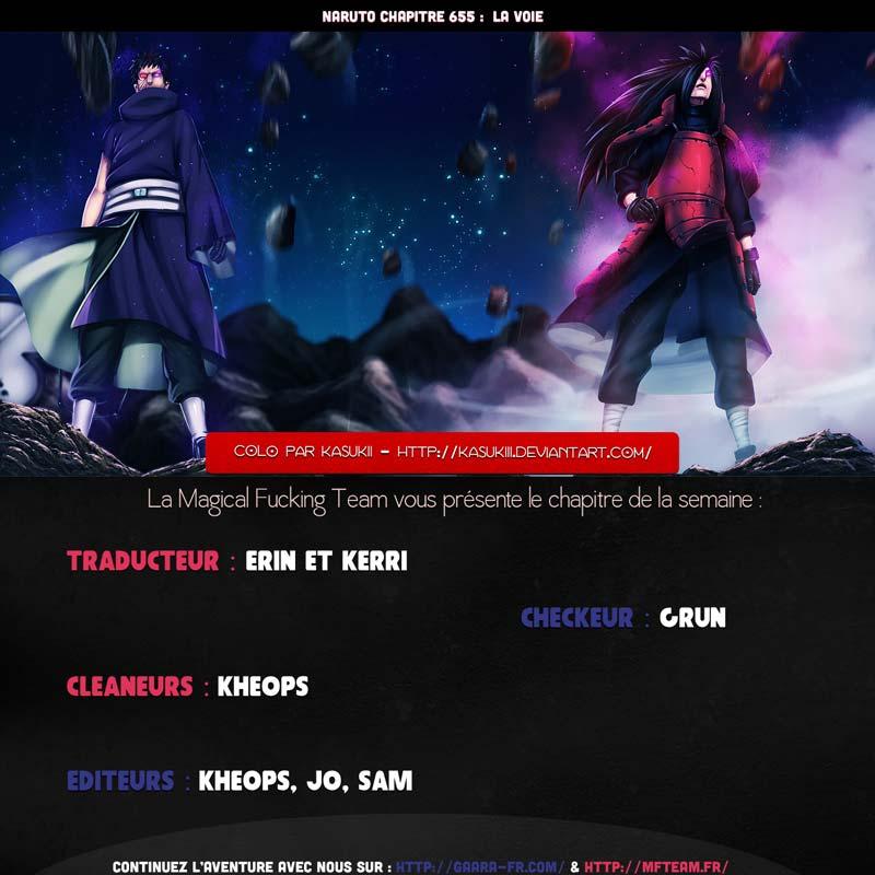 Lecture en ligne Naruto 655 page 1