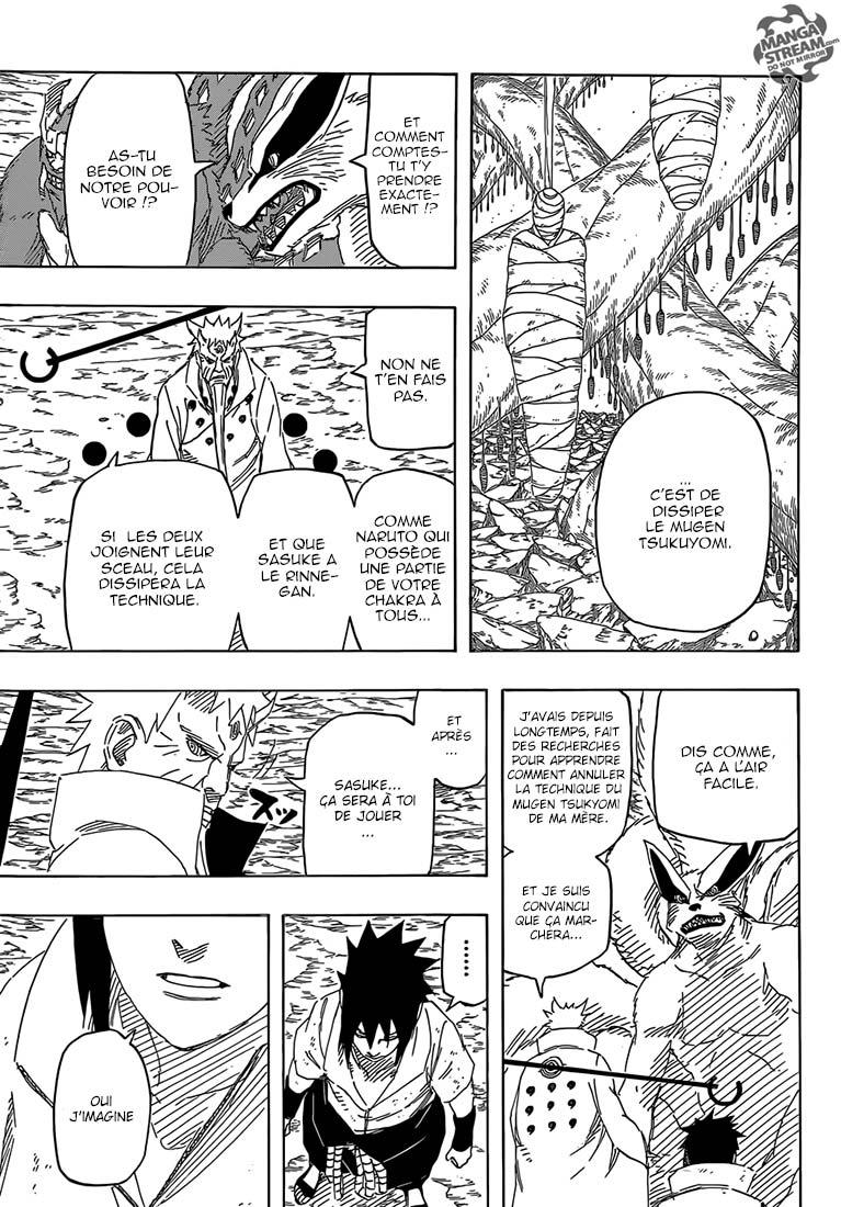 Lecture en ligne Naruto 692 page 7