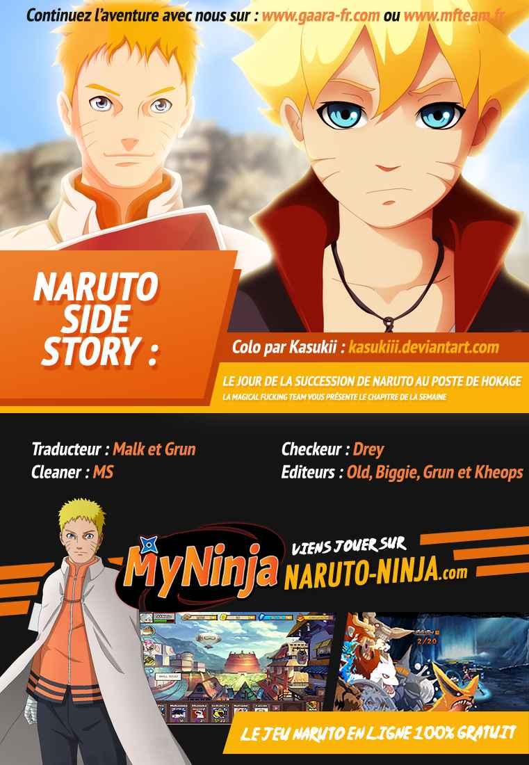 Lecture en ligne Naruto 701 page 1