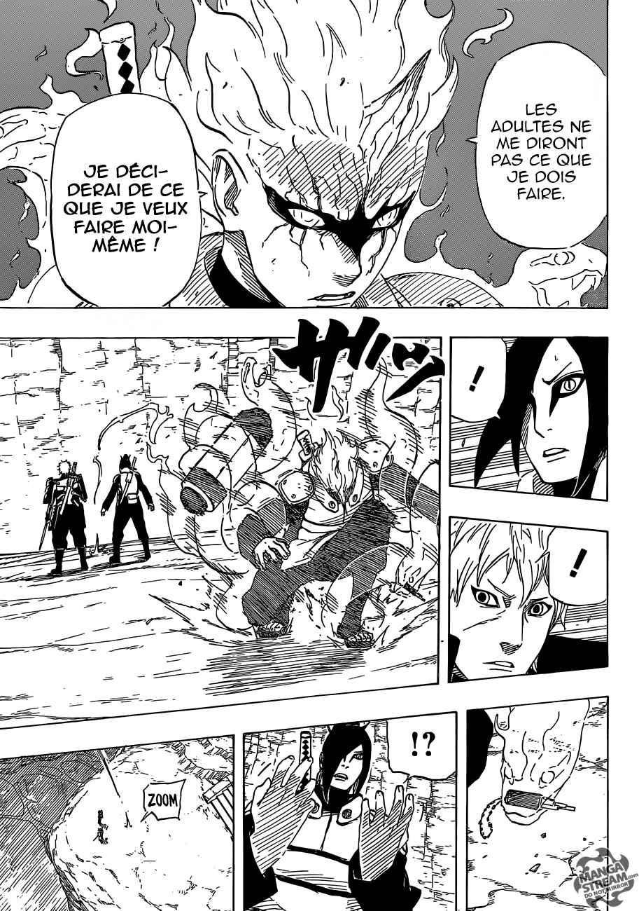 Lecture en ligne Naruto 701 page 39